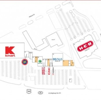 Plan of mall Northshore Plaza