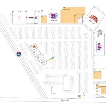 Plan of mall Northtown Plaza