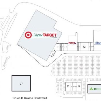 Plan of mall Northwoods Center