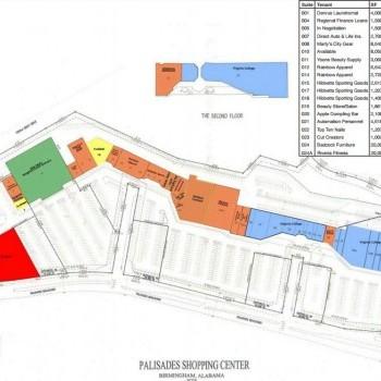 palisades shopping center store list hours location birmingham alabama malls in america. Black Bedroom Furniture Sets. Home Design Ideas