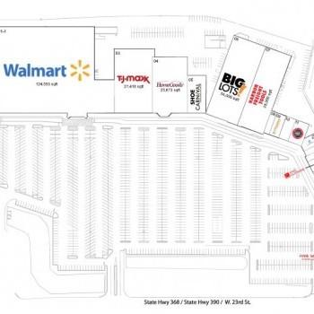 Plan of mall Panama City Square