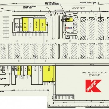 Plan of mall Paradise Plaza