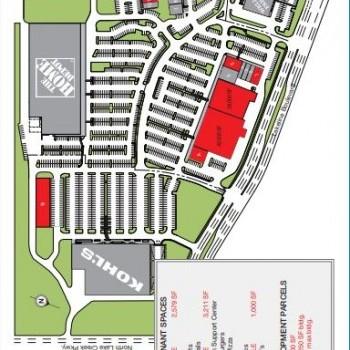 Plan of mall Parkline