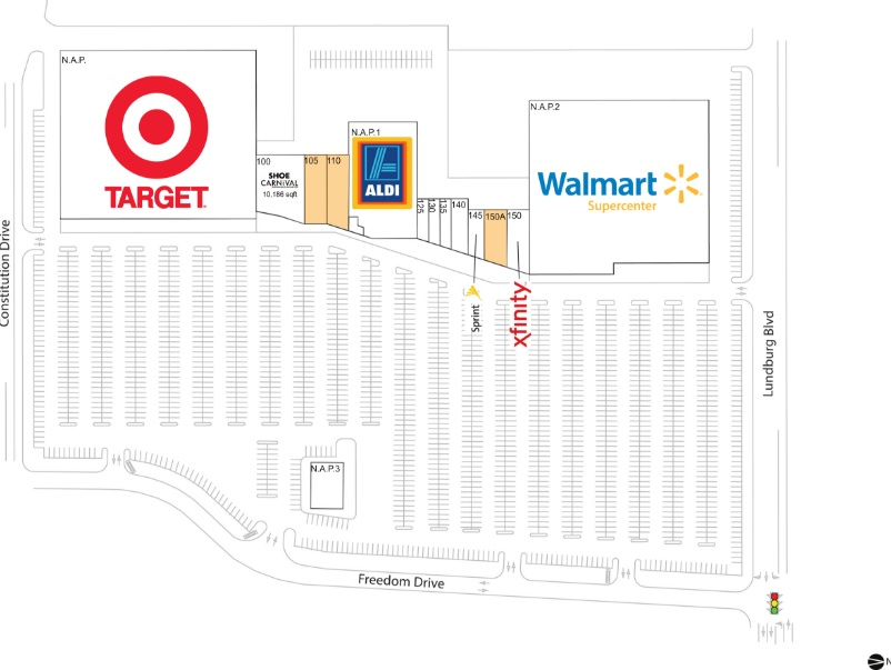 Walmart Supercenter In Parkway Pointe Springfield Store Location