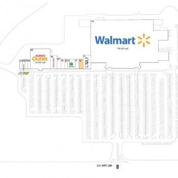 Plan of mall Payton Park