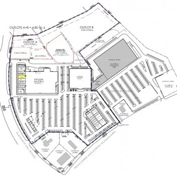 Plan of mall Peachtree Hill