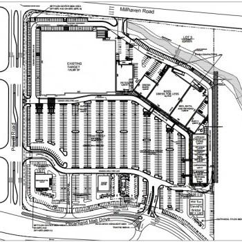 Plan of mall Pecanland Commons