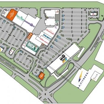 Plan of mall Perimeter Pointe