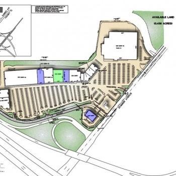 Plan of mall Perimeter Shopping Center
