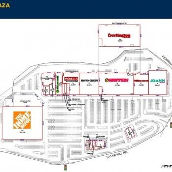Plan of mall Perring Plaza