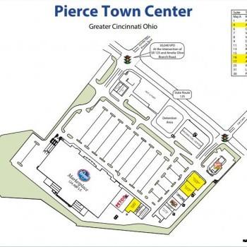 Plan of mall Pierce Town Center