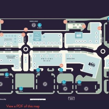 Plan of mall Pinecrest