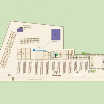 Plan of mall Pinetree Plaza
