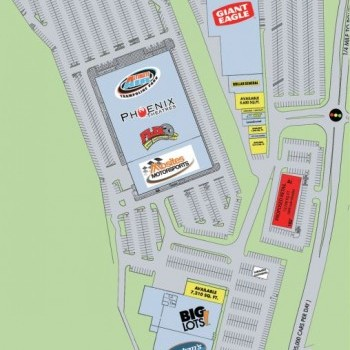 Plan of mall Pittsburgh Plaza East