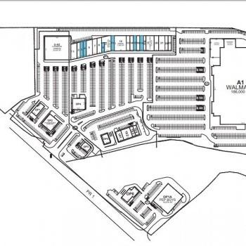 Plan of mall Plaza Cayey
