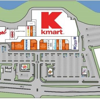 Plan of mall Plaza del Atlantico