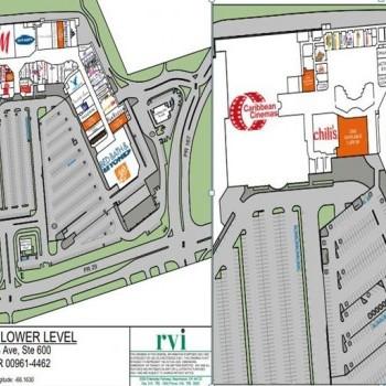 Plan of mall Plaza del Sol