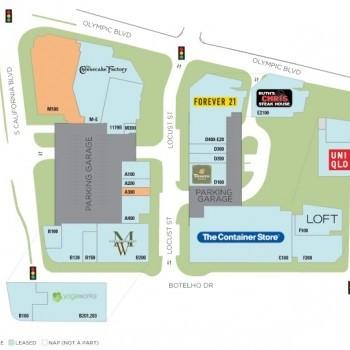 Plan of mall Plaza Escuela