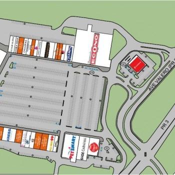 Plan of mall Plaza Fajardo