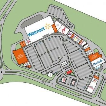 Plan of mall Plaza Palma Real