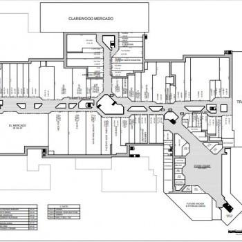 Plan of mall PlazAmericas