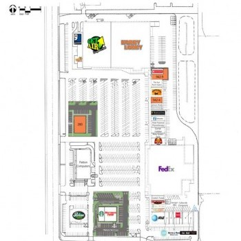 Plan of mall Poplar Market Plaza