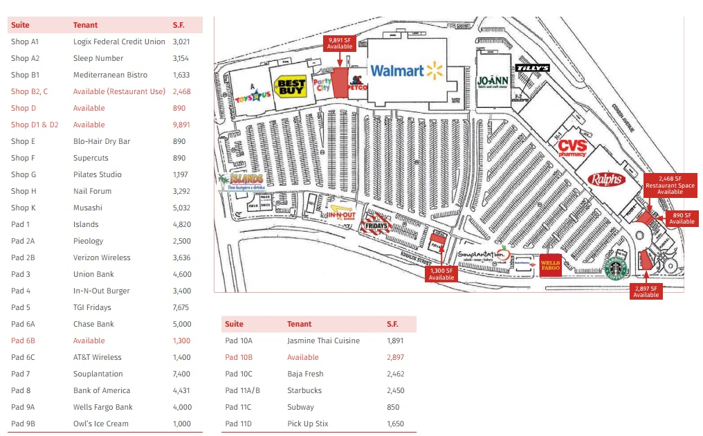 Porter Ranch Town Center - store list, hours, (location: Northridge ...