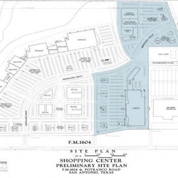 Plan of mall Potranco Market