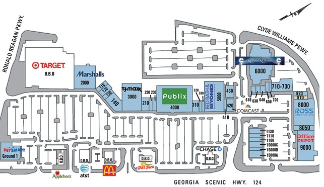 ec0bb7b64a02 Shoe carnival in Presidential Markets - store location plan