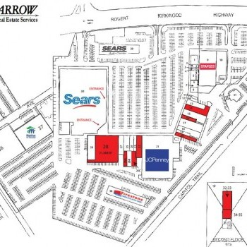 Plan of mall Prices Corner Shopping Center