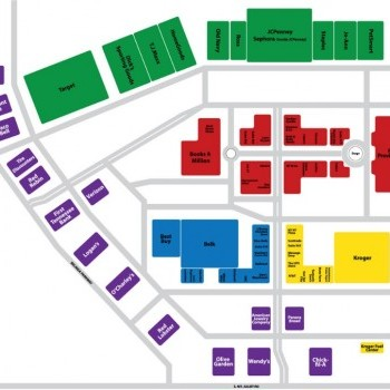 Plan of mall Providence Marketplace