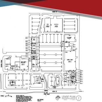 Plan of mall Quivira 95 Shops