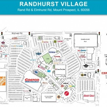 Buffalo Wild Wings in Randhurst Village - store location ... on petsmart map, burger king map, applebee's map, quiznos map, dairy queen map, chick-fil-a map,