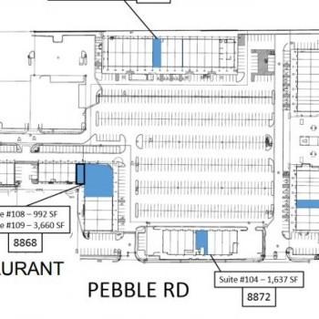 Plan of mall Regal Plaza