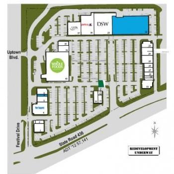 Plan of mall Renaissance Centre