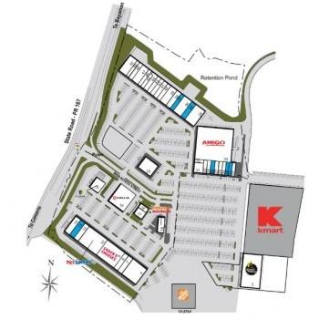 Plan of mall Rexville Town Center
