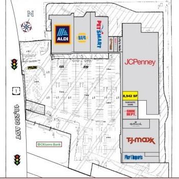Plan of mall Rhode Island Mall