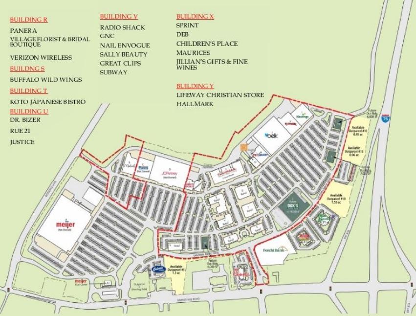 Richmond Centre - Store List Hours (location Richmond Kentucky) | Malls In America
