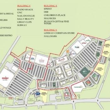 Plan of mall Richmond Centre