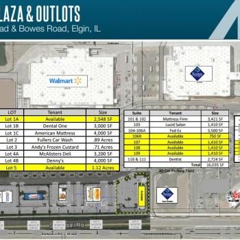 Plan of mall Richport Plaza