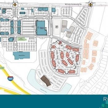 Plan of mall Riverbend Village