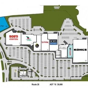 Plan of mall Rockingham Mall