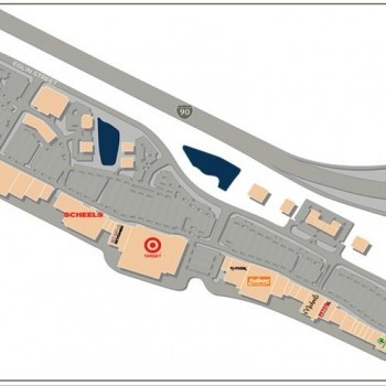 Plan of mall Rushmore Crossing