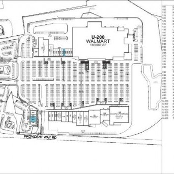 Plan of mall Seabrook Commons