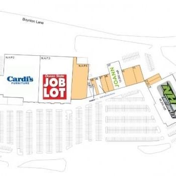 Plan of mall Seacoast Shopping Center