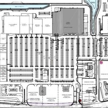 Plan of mall Shoppes of Lakeland