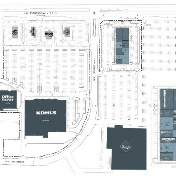 Plan of mall Silver Springs Pointe