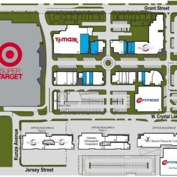 Plan of mall SoDo Shopping Center