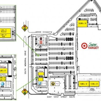 Plan of mall South Town Market