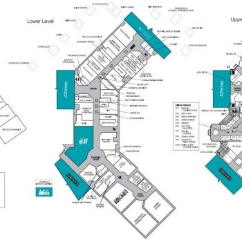 Plan of mall South Towne Marketplace